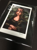 Image of La Gioconda (Mona Lisa) - Signed Mini Print with Black Mat