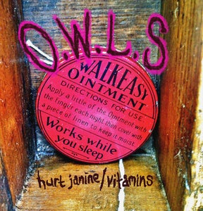 """Image of O.W.L.S limited edition 7"""" vinyl - Hurt Janine/Vitamins *pre order*"""