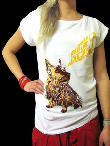 Image of MITÄ JÄTKÄ (rolled sleeves girls t-shirt)