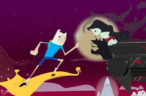 Image of Finn and the Vampire Queen