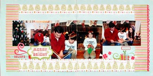 Image of Merry & Bright Double Page Layout Kit