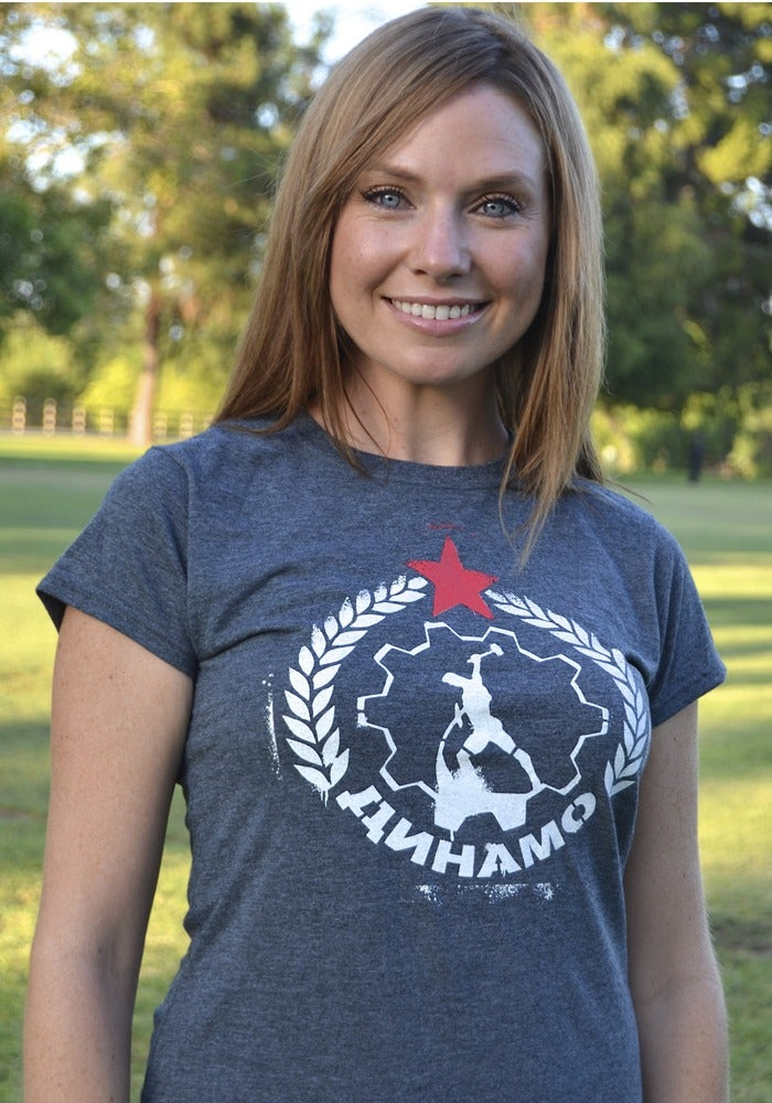 Image of Women's Fitted T-Shirt Classic Logo