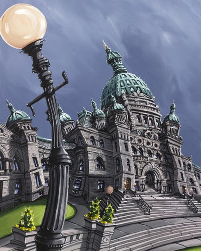 Image of BC Legislature 8x10 Photographic Print