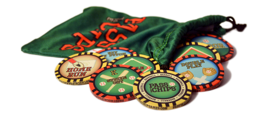 Image of Pass the Chips Baseball