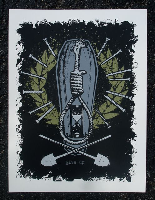 Image of 'coffins of kings' print