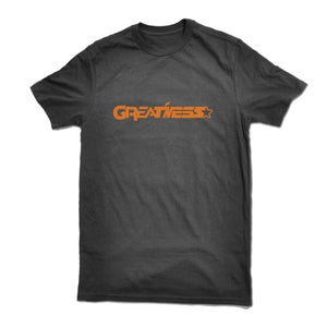"Image of ""Greatness"" tee shirt - BLACK"