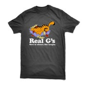 "Image of ""Real G's"" tee shirt - BLACK"