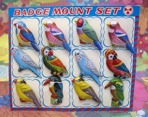 Image of Beautiful Tin Badges