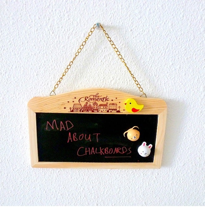 Image of romantic chalkboard