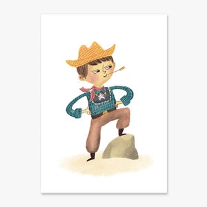 Image of Howdy Partner- A5 or A4 Print