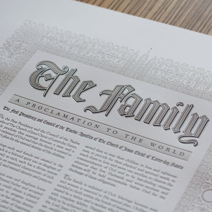 Image of The Family: A Proclamation to the World