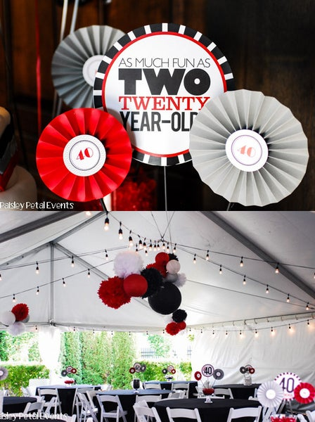"Image of printable THE BIG O 30, 40, 50, 60.... 8"" centerpieces (As much fun as two 20 year olds)"