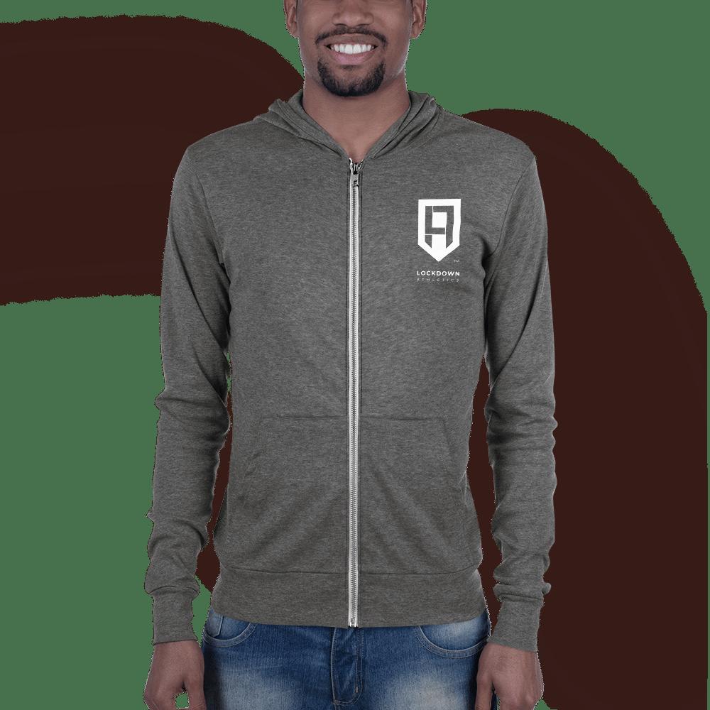 Image of Unisex zip hoodie