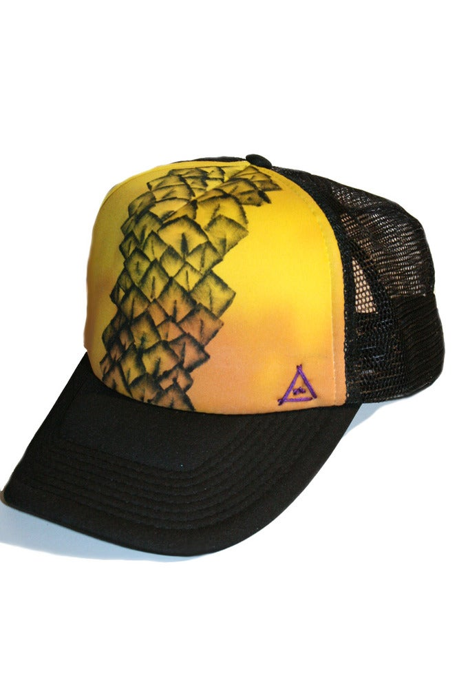 0b3c362ae64 Stoked Apparel — Pineapple Express Trucker Cap