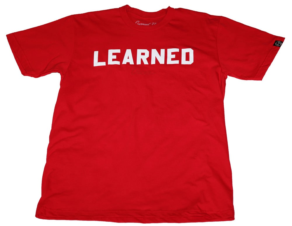 Image of COLLEGE Tee - RED
