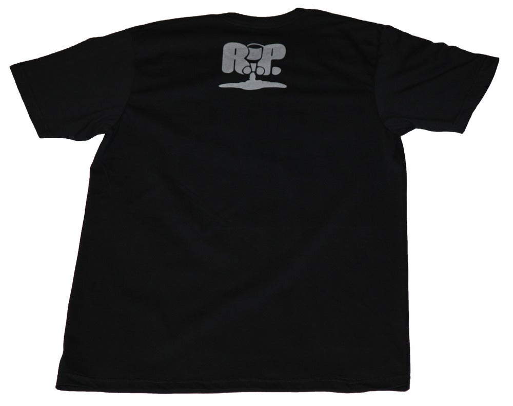 Image of GandHIGH Tee - BLACK