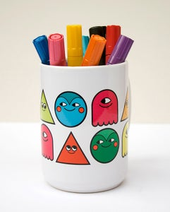 Image of Shape People ceramic Mug from Onesidezero LTM Series - SOLD OUT