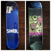 Image of GWAR - Faces Sk8 Deck reg shape