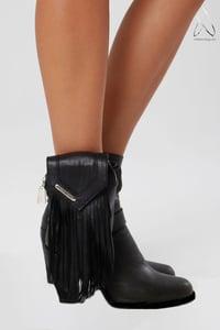 Image of Like a Feather Leg/Arm Bag- Black