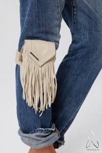 Image of Like a Feather Leg/Arm Bag- Cream