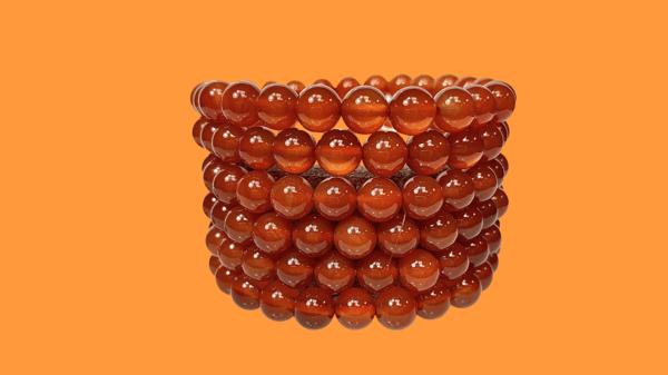 Image of Carnelian stretch bracelets