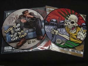 "Image of Dave Dub & The Sutter Cain Gang - ""Mind Police"" Picture Disc Vinyl"