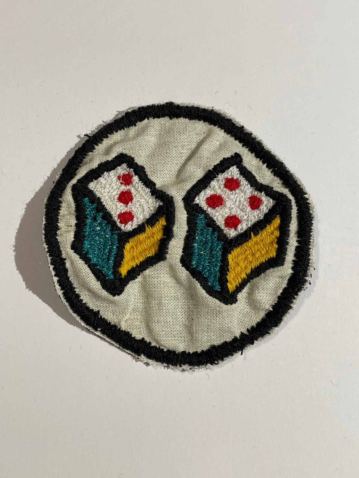 Image of Dice patch. 2