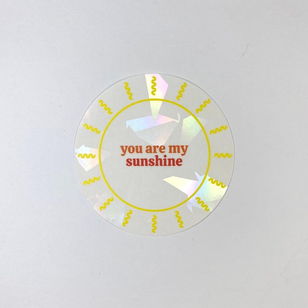Image of You are my Sunshine Suncatcher