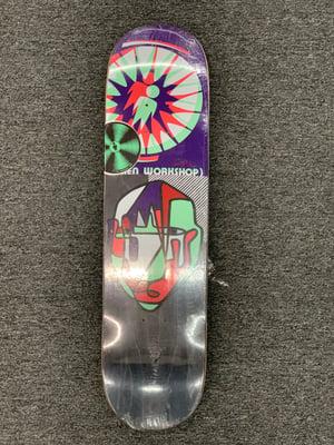 Image of Alien Workshop Sammy Inflection 8.0 x 31.5 Skateboard Deck Autographed #1
