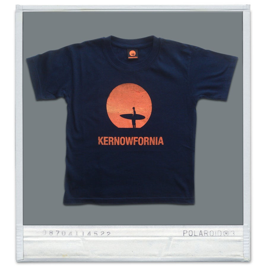 Image of Kids - Sunspot T-shirt (Brown, navy or maroon)