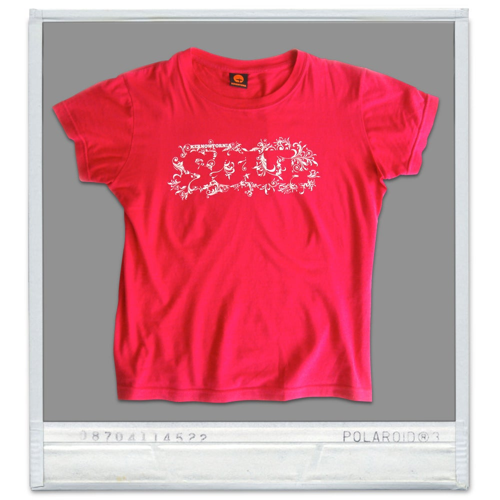 Image of Ladies - Kernowfornia SOUL: T-shirt (punk pink, white or brown)