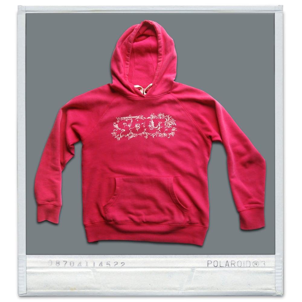 Image of Ladies - Kernowfornia SOUL: hoodie (punk pink or Cobalt blue)