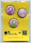 Image of 3 badges