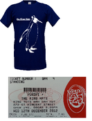 Image of Vukovi & The King Hats Ticket + Tshirt Bundle