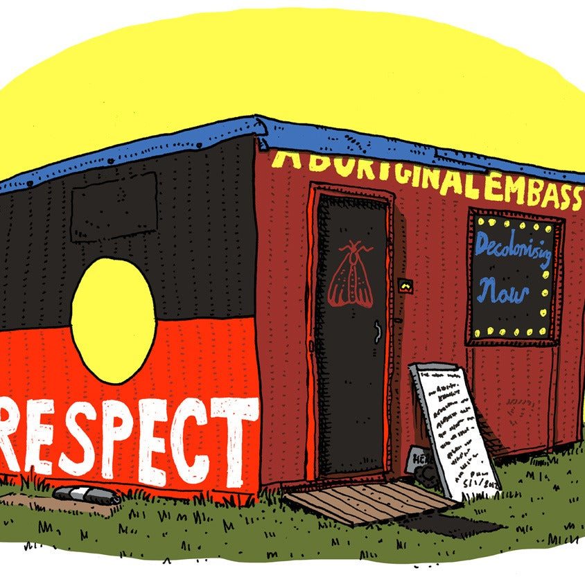 Image of Aboriginal Embassy Limited Edition Digital Print