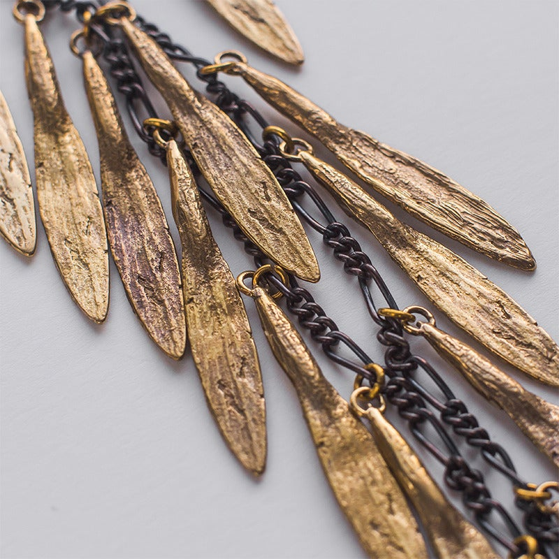 Image of K/LLER Collection Cascading Petal Necklace