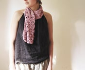 Image of Pink Organic Cotton SCARF