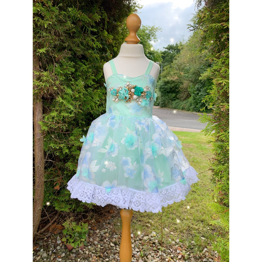 Image of The mint blossom dress