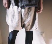 Image of Linen SKORT: natural flax or espresso