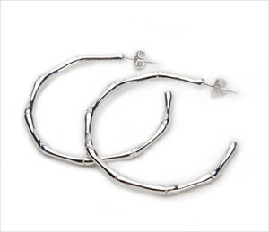 Image of BAMBOO HOOPS XL