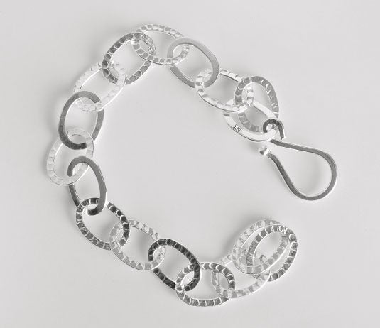 Image of LYNX BRACELET-HAMMERED