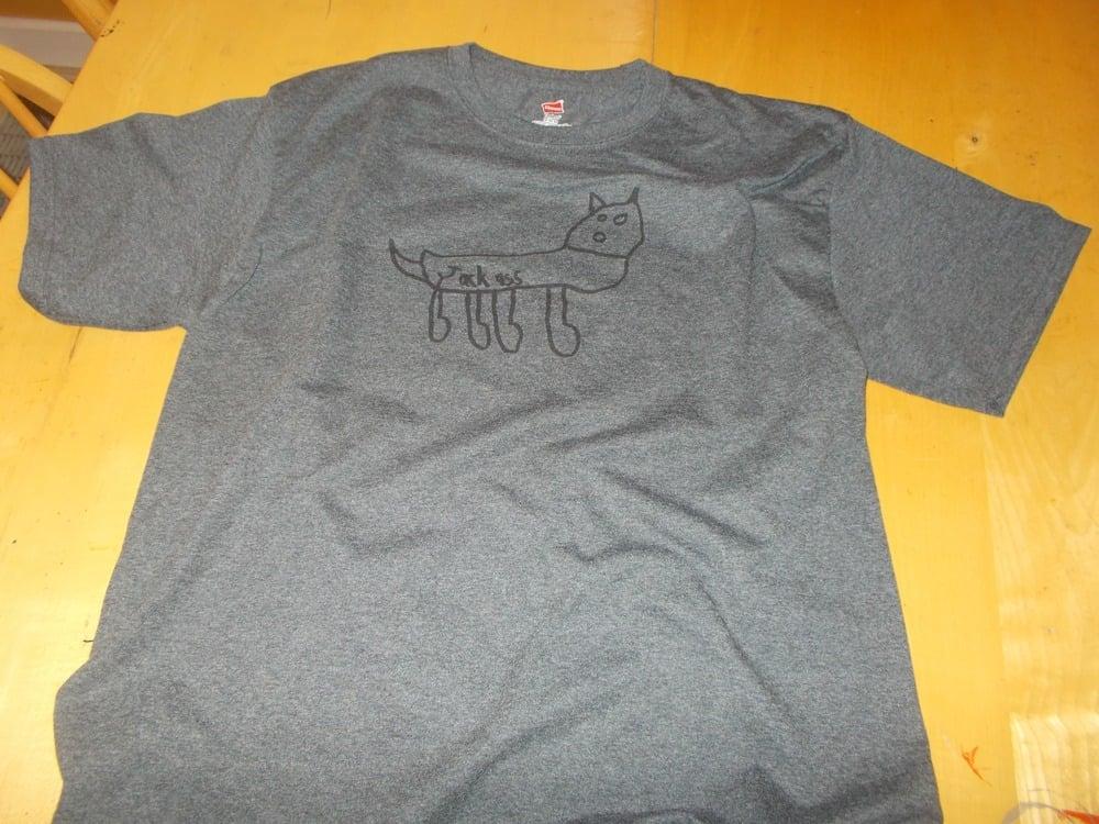Image of Talbott - Jackass Tee Shirt (charcoal)