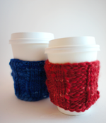 Image of Cup Cozy Knitted by Stitch & Story