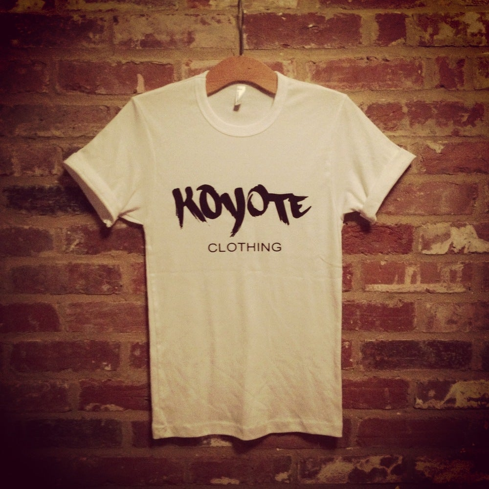 Image of Koyote Clothing Print White Tee