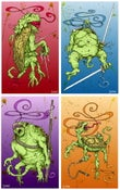 Image of 'MUTANT NINJAS' print set or Individual prints!