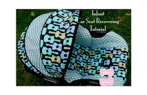 Image of Infant Car Seat Recovering PDF Tutorial