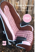 Image of Toddler Booster Car Seat Recovering Tutorial PDF