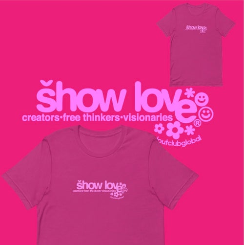 Image of Show Love! Tee (Pink)