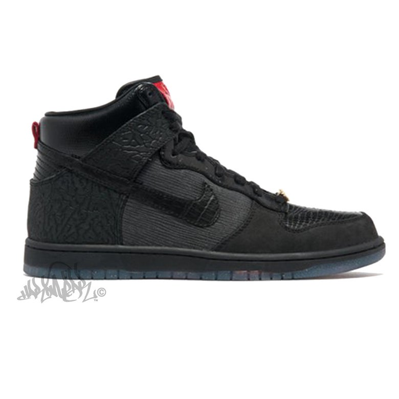 Image of NIKE DUNK HIGH PREMIUM QS - MIGHTY CROWN- 503766 001
