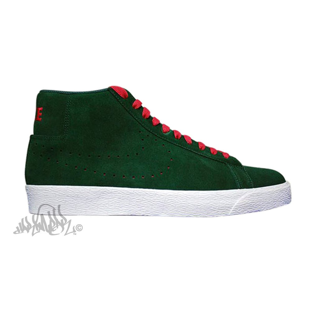Image of NIKE SB BLAZER - Noble Green - 310801 361